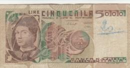 BANCONOTA  ITALIA 5000 LIRE - VF (BN41 - 5000 Lire