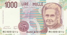 BANCONOTA  ITALIA 1000 LIRE MONTESSORI -  UNC (BN45 - [ 2] 1946-… : République