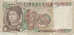 BANCONOTA  ITALIA 5000 LIRE - VF (BN61 - [ 2] 1946-… : République