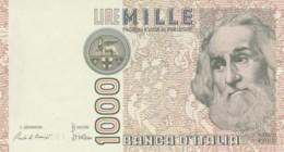 BANCONOTA  ITALIA 1000 LIRE MARCO POLO - UNC (BN70 - [ 2] 1946-… : République