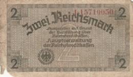 BANCONOTA - GERMANIA - OCCUPAZIONI ALLEATE - 2 REICHSMARK- F (BN110 - Altri