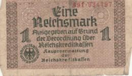 BANCONOTA - GERMANIA - OCCUPAZIONI ALLEATE - 1 REICHSMARK- VF (BN177 - Altri