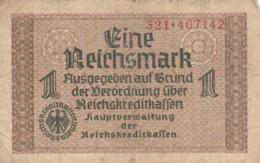 BANCONOTA - GERMANIA - OCCUPAZIONI ALLEATE - 1 REICHSMARK- VF (BN178 - Altri