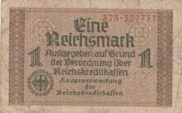 BANCONOTA - GERMANIA - OCCUPAZIONI ALLEATE - 1 REICHSMARK- VF (BN179 - Altri