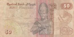 BANCONOTA - EGITTO 50 PIASTRE -  VF (BN192 - Egitto