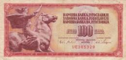 BANCONOTA - JUGOSLAVIA 100 DINARA VF (BN201 - Kazakhstan