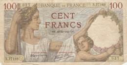 BANCONOTA - FRANCIA 100 FRANCHI-1941-  F (BN234 - 1871-1952 Anciens Francs Circulés Au XXème