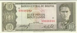 BANCONOTA - BOLIVIA 10 PESOS UNC (BN269 - Bolivia