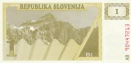 BANCONOTA - SLOVENIA 1- UNC (BN270 - Slovenia