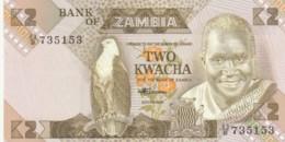 BANCONOTA - ZAMBIA 2 KWACHA UNC (BN279 - Zambia