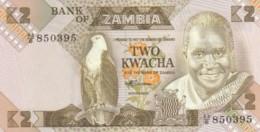 BANCONOTA - ZAMBIA 2 KWACHA UNC (BN283 - Zambia