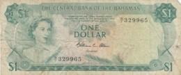 BANCONOTA - BAHAMAS 1 DOLLARO VF (BN313 - Bahamas
