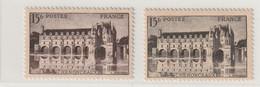 Fance N° 610c Gris Noir Signé Brun Sans Charniére** - Curiosità: 1941-44  Nuovi