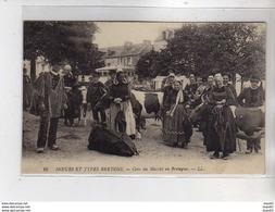 Moeurs Et Types Bretons - Coin Du Marché En Bretagne - Très Bon état - Francia