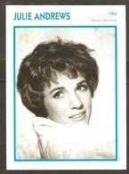 PORTRAIT DE STAR 1965 GRANDE BRETAGNE - ACTRICE JULIE ANDREWS - ENGLAND ACTRESS CINEMA FILM PHOTO - Fotos