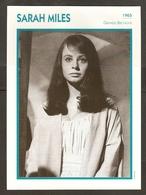 PORTRAIT DE STAR 1965 GRANDE BRETAGNE - ACTRICE SARAH MILES - ENGLAND ACTRESS CINEMA FILM PHOTO - Fotos