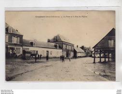 GRANDCOURT - La Poste Et La Rue De L'Eglise - Très Bon état - France