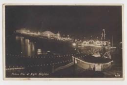 AJ44 Palace Pier At Night, Brighton - Brighton