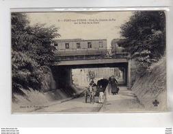 PONT SUR YONNE - Pont Du Chemin De Fer Sur La Rue De La Gare - Très Bon état - Pont Sur Yonne