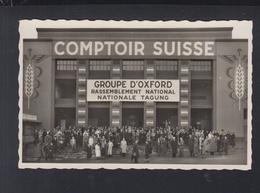 Schweiz AK Comptoir Suisse Lausanne 1937 Groupe D'Oxford - VD Vaud