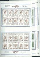 Année 1972 : 1627-1635 ** En Feuilles De 20 - Belgica 72 - Full Sheets