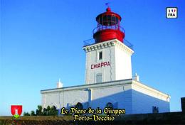 Set 6 Cartes Postales, Phares, Lighthouses Of Europe, France, Porto-Vecchio, Le Phare De La Chiappa - Vuurtorens