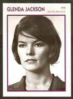 PORTRAIT DE STAR 1970 GRANDE BRETAGNE - ACTRICE GLENDA JACKSON - ENGLAND ACTRESS CINEMA FILM PHOTO - Fotos