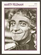 PORTRAIT DE STAR 1970 GRANDE BRETAGNE - ACTEUR MARTY FELDMAN - ENGLAND ACTOR CINEMA FILM PHOTO - Fotos