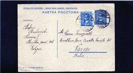 CG6 -  Polonia    - Cartolina Postale Per Varese Del 26/8/1931 - Stamped Stationery