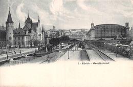 Zürich Haupbahnhof - Bahn - ZH Zurich