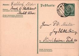! 1 Beleg 1933 Aus Dassow, Brook Bei Kalkhorst, Förster, Mecklenburg - Covers & Documents