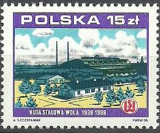 Polonia 1988 ** Mnh - Fabbriche E Imprese