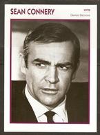 PORTRAIT DE STAR 1970 GRANDE BRETAGNE - ACTEUR SEAN CONNERY - ENGLAND ACTOR CINEMA FILM PHOTO - Fotos