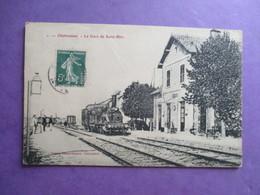 CPA 52 CHALVRAINES LA GARE DE SAINT BLIN TRAIN - France