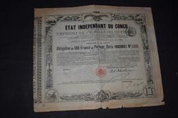 Etat Indépendant Du Congo Série 1888 N° 2 757 - Africa