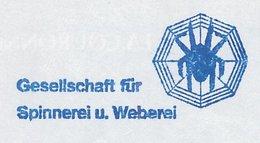 Meter Cut Germany 2004 Spider - Spinning - Weaving - Araignées