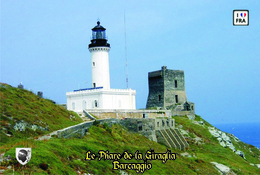 Set 6 Cartes Postales, Phares, Lighthouses Of Europe, France,  Barcaggio, Le Phare De La Giraglia - Leuchttürme