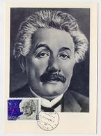 CARTE MAXIMUM CM Card USSR RUSSIA Physicist Einstein Jewish Germany Nobel Prize - Cartoline Maximum