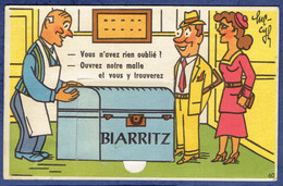 CARTE A SYSTEME 10 VUES - PYRENEES-ATLANTIQUES (64) - BIARRITZ - Biarritz