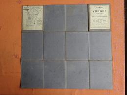CARTE TOPOGRAPHIQUE DES VOSGES 88 ECHELLE 1/ 50.000 FEUILLE XIII SAINTE MARIE AUX MINES EDITION MAI 1923 ENTOILÉE - Cartes Topographiques