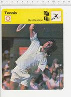 Ilie Nastase Fiche Sport Vintage / 01-FICH-Tennis-2 - Sports
