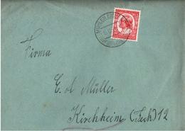 ! 1 Beleg 1934 Mit Inhalt Aus Mühlen Eichsen, Mecklenburg - Germany