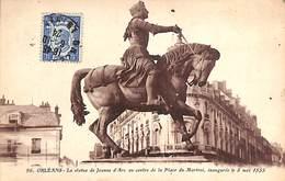 45 - Orléans - Statue De Jeanne D'Arc (timbre Ronsard) - Orleans