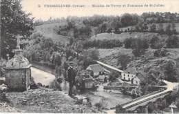 MOULIN A EAU - 23 - FRESSELINES : MOULIN DE VERVY Et Fontaine De St Julien - CPA Village (500 Habitants) - Creuse - Watermolens
