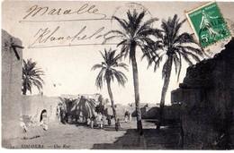CPA ALGERIE Sidi Okba - Une Rue - Année 1907 - Algeria