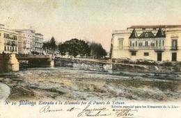 Malaga - Entrada à La Alameda Por El Puente De Tetuan - Málaga