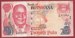 Botswana 20 Pula 2008 Dans L 'état - Botswana