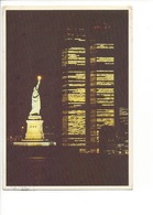 25327 - New York Twin Towers Statue Of Liberty (format 10X15) - Manhattan