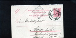 CG6 -  Austria   - Cartolina Postale - Teplitz-Schonau  15/7/1908 Per Varese Sant'Ambrogio - Stamped Stationery