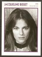 PORTRAIT DE STAR 1975 GRANDE BRETAGNE - ACTRICE JACQUELINE BISSET - ENGLAND ACTRESS CINEMA FILM PHOTO - Fotos